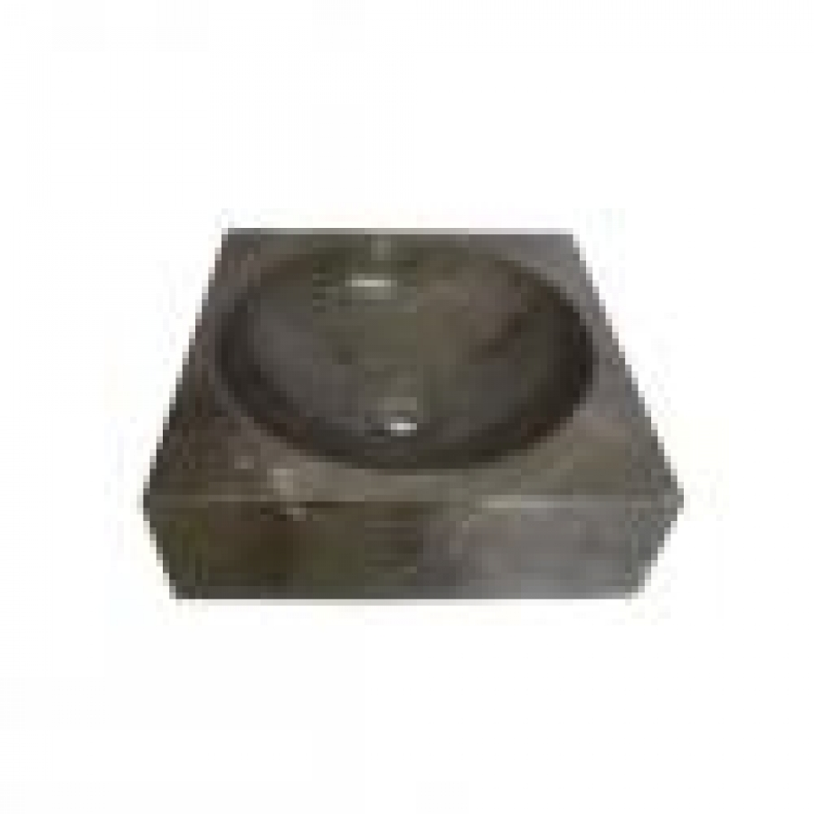 SQUARE SINK BLACK MARBLE