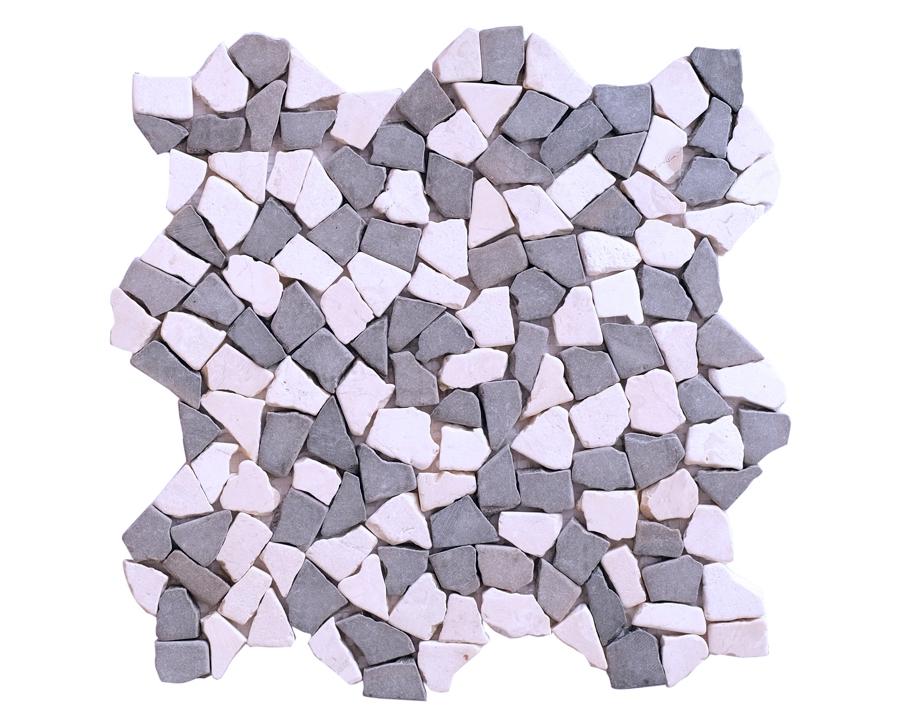 Micro Mix White Grey