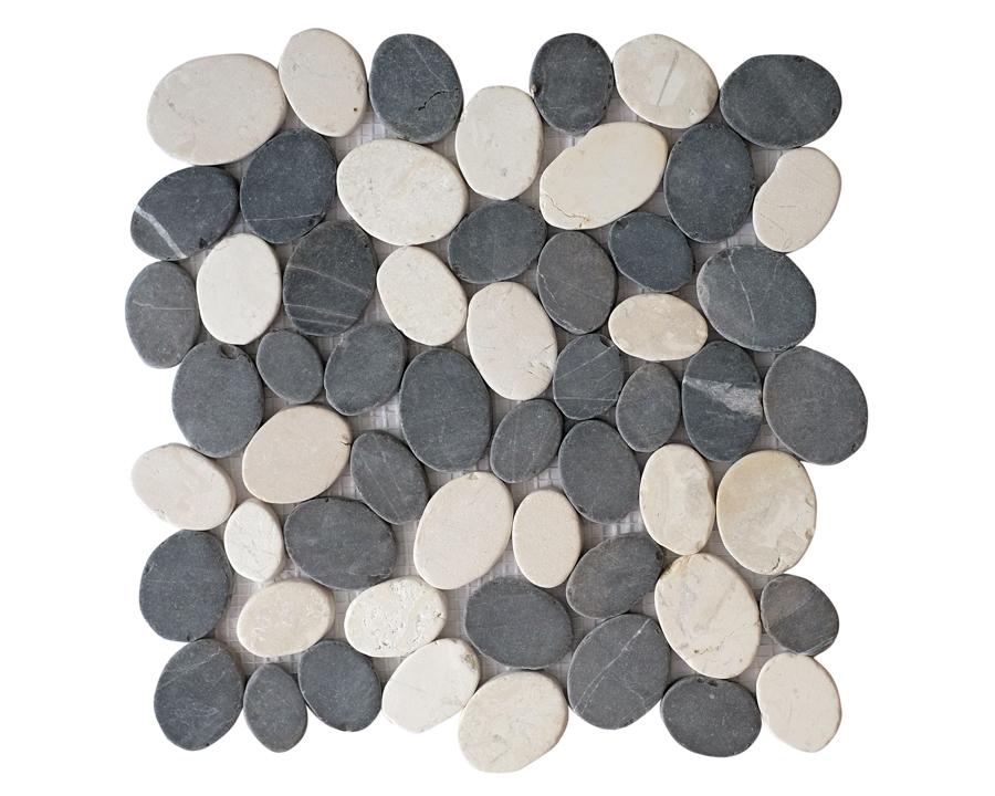 Meteor Mix White Grey